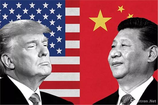 中美因贸易问题剑拔弩张,图片来源:asianinvestor