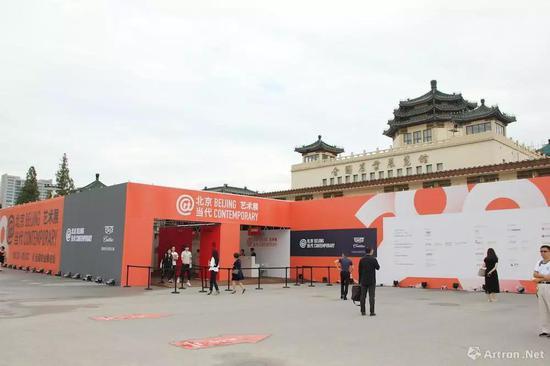 2018首届北京当代·艺术展外景