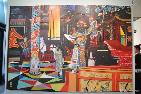 郑平平《神庙》