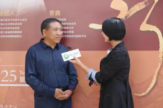刘忠义老师接受采访