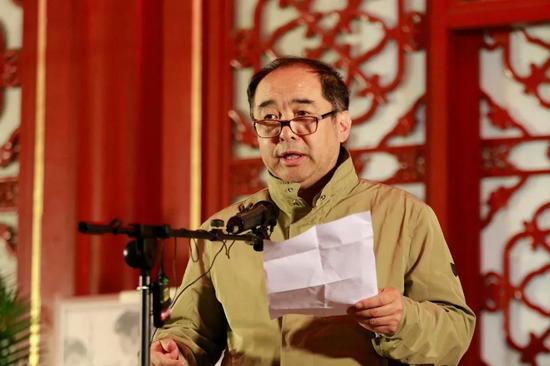 文化和旅游部恭王府博物馆副馆长边伟先生致辞