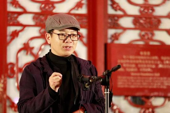 中国国家画院艺术信息中心主任王平致辞