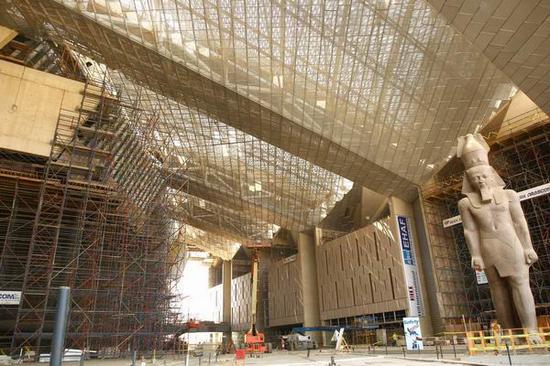 正在建造中的大埃及博物馆