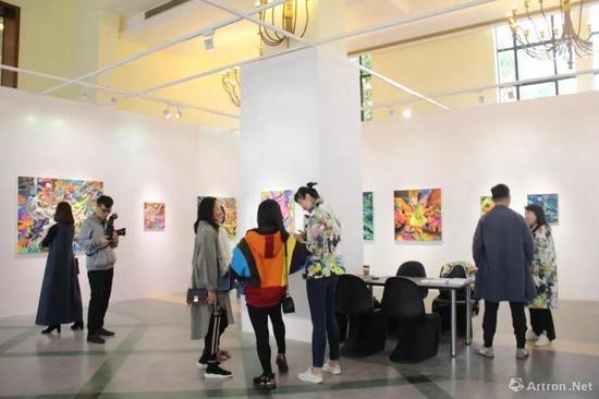 博而励画廊在2018年ART021艺博会上带来王加加个展