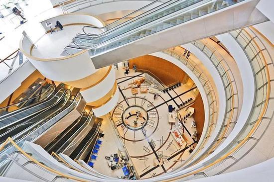 ▲曼谷文化艺术中心内景