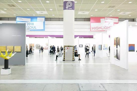 ▲第17届KIAF ART SEOUL现场