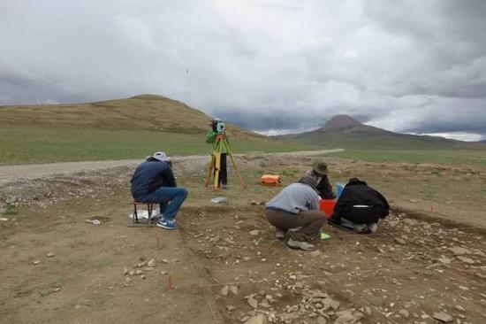 考古发掘现场。图/国家文物局