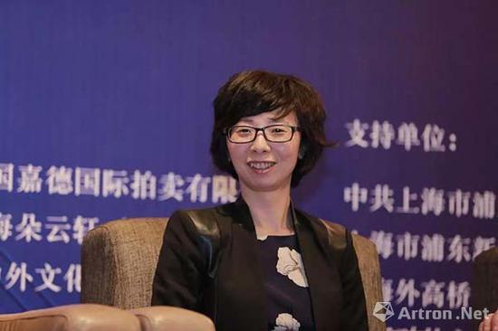 ▲中国拍卖行业协会副秘书长欧阳树英