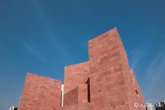 中国美术学院中国国际设计博物馆新馆室外实景图