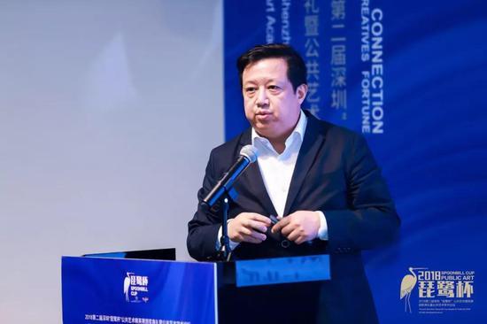 中央美术学院艺术管理与教育学院院长余丁先生