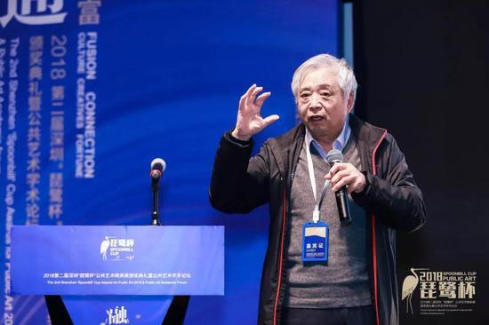 中国对外文化交流中心研究室主任乔然先生