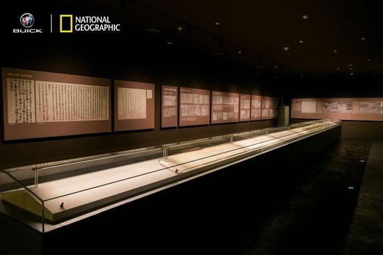 开封博物馆展出的《清明上河图》(复制品)