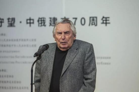 画家、俄罗斯联邦美协终身荣誉主席西多罗夫致辞