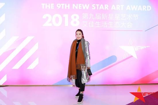▲新星星艺术CEO朴尔敏女士