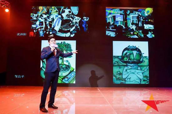 ▲央视心理访谈《遇见大咖》的特别嘉宾 马勇先生与观众互动艺术现场