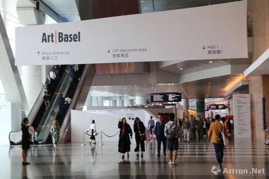 2018Art Basel 现场