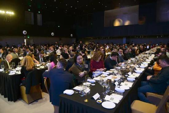 2018画廊周北京晚宴现场