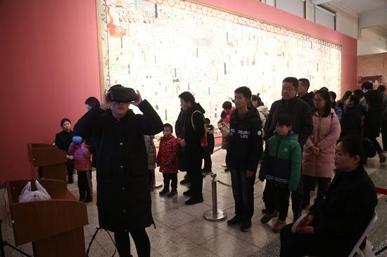 博物馆里过大年:到河北博物院看敦煌石窟艺术