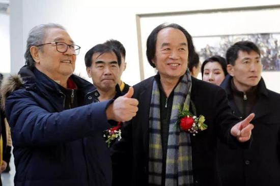 鲁迅美术学院名誉院长、中国著名油画家宋惠民先生为赵世杰作品点赞