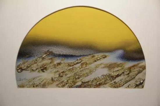 多彩釉板-1 34cm×53cm
