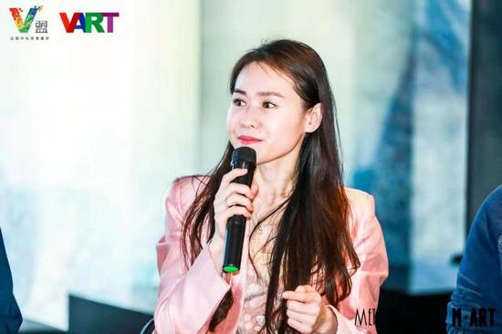 北京万思乐学教育总经理姜秋云女士发言