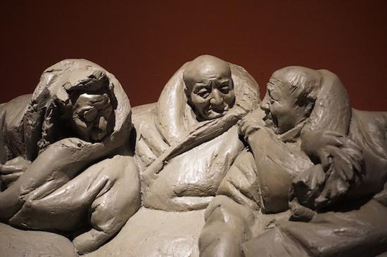 刘元捷,《藏民系列——小憩 藏族 》