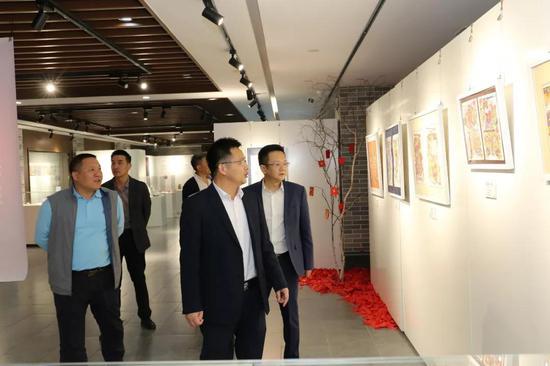 南沙区委常委、宣传部长段德海一行参观岭南活力非遗艺术馆