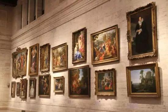 波士顿艺术博物馆馆内