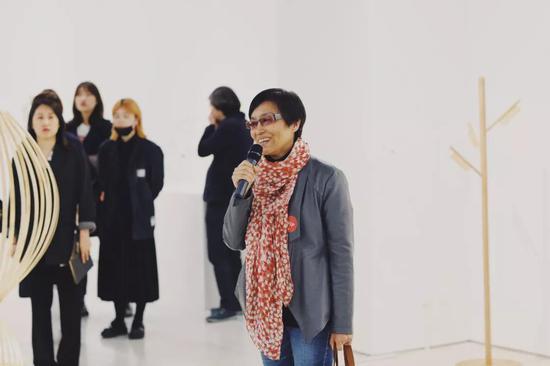 中央美术学院设计学院 江黎教授发言中