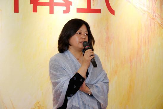特别支持单位、嘉德艺术中心副总王彤女士致辞