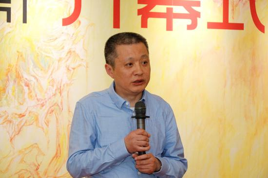 学术支持单位,中国人民大学文学院院长陈剑澜教授致辞