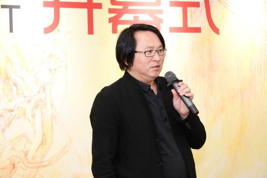 北京电影学院副院长博士生导师王鸿海教授致辞
