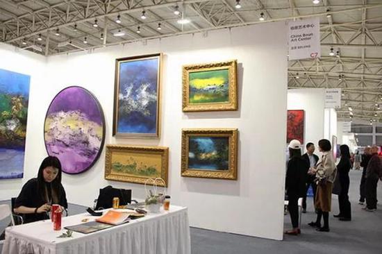 北京伯恩艺术中心 展位