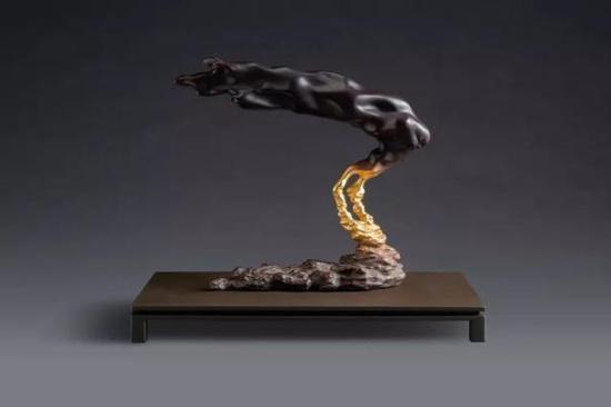 李真 日藏月风 铜雕 30x16x25cm 2016 已售