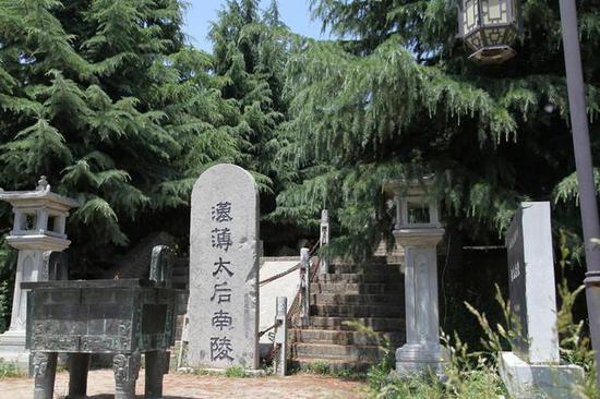 汉文帝生母陪葬坑被盗