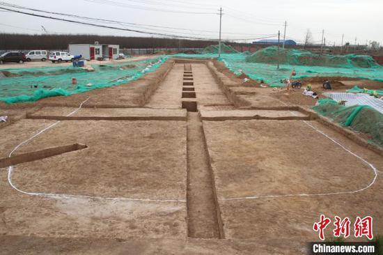 目前所见规模最大的隋王韶家族墓园