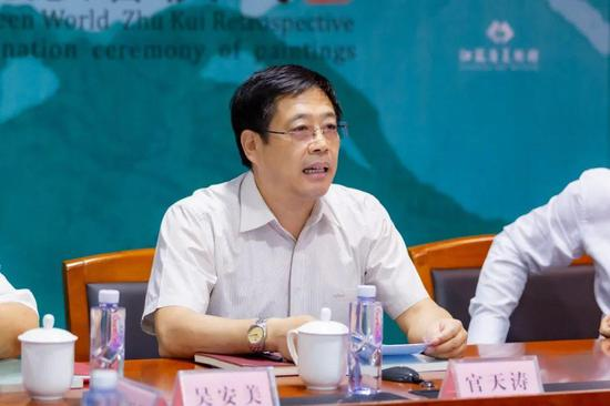 省文旅厅二级巡视员、艺术处处长官天涛致辞