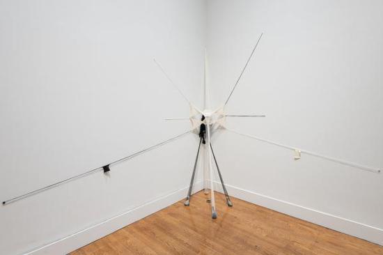 森加·能古蒂作品,展览现场 图:Philadelphia Museum of Art; Joseph Hu