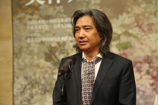 全国政协常委、中国美术馆馆长、中国美术家协会副主席吴为山致辞