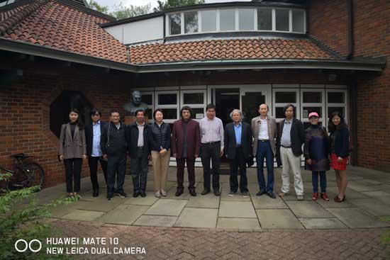 访问剑桥大学李约瑟研究所