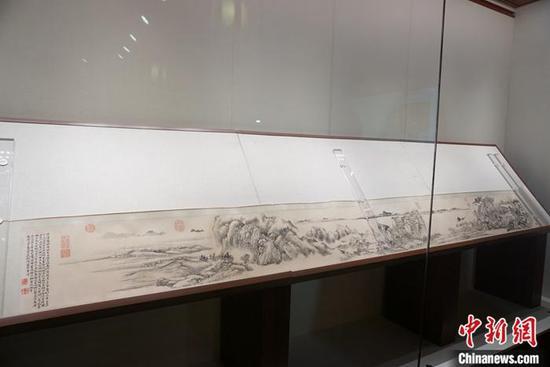 《江山佳胜图》首次对外公开展出