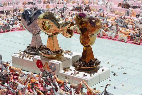 竹川宣彰《猫奥运会:开幕式》