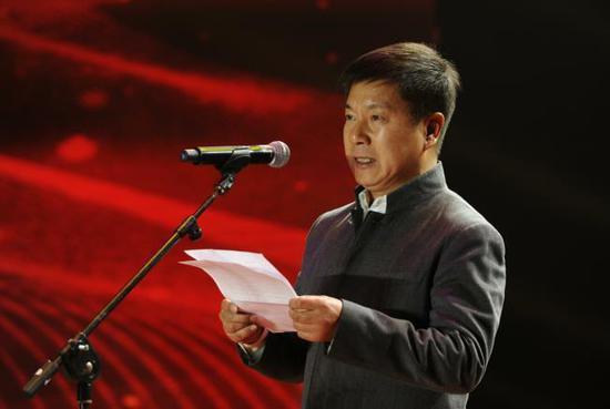 (中国教育电视台党委书记、副台长柯春晖致辞4)