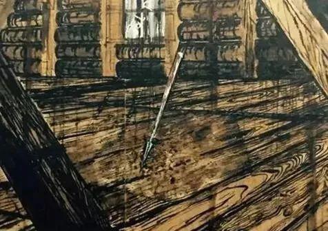 安塞尔姆・基弗《帕西法尔 III》1973