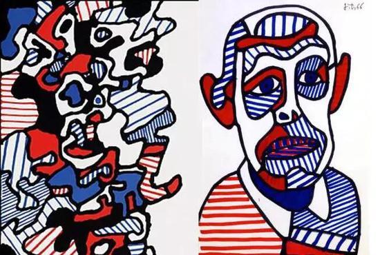 让·杜布菲最伟大的传奇绘画怪杰