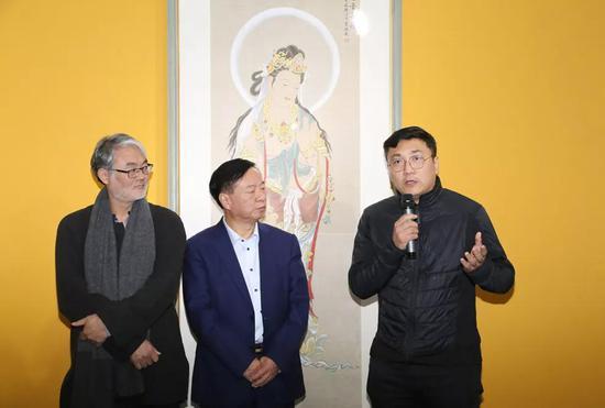 河南西洋画电视大学副院长崔景哲企业庆祝