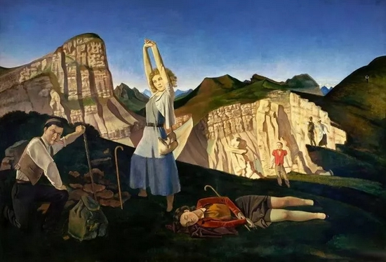 《山》(1935-37)