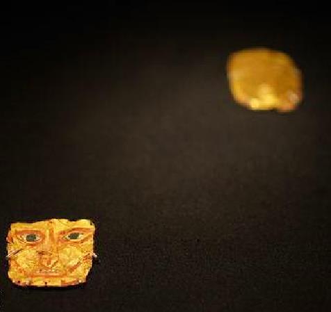 西藏黄金面具:象雄酋豪的丧葬习俗