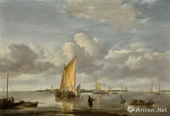 杨·凡·德·卡佩勒《平静的海》205万英镑