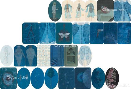 郝量 2009年作 移用解剖学系列